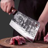 Paslanmaz Çelik Şef Bıçak Pişirme Çekiç Bıçak Ağır Yamyck El Balta Kalın Duty Çin Balta Kesici Dilimleme Chopper Mutfak Bıçakları