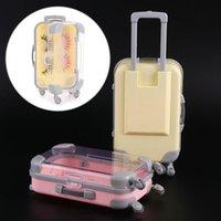 False Eyelashes Beauty Plastic Makeup Tool Mink Lash Tray Luxury Lashes Suitcase Box Luggage Eyelash Package
