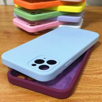 iPhone 13 Defender Case With Original LOGO Retail Box Liquid Silicone Scratchproof Dirtproof For iP 12 Mini 11 Pro Xs Max Xr X 8 Plus 7 6s