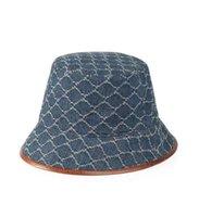 Mens e Womens Marca Designers Stingy Brim Stingy Chapéus Double Wear com Letras Beach boné Respirável Unisex Unisex Quatro Temporada Capas Balde