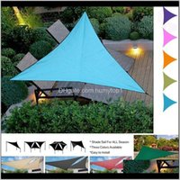 Tende e Sole Shelter Shelter Outdoor Triangolo Parasole Impermeabile Canopy Garden Patio Piscina Shade a vela Tenda da campeggio Tenda da campeggio FT65 2TH6O D5XGH