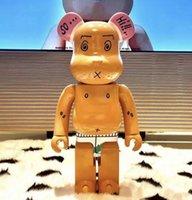 28 CM 0.4 KG Originalfake Bearbrick Film Oyunları PVC Ayakta Arkadaş Orijinal Kaws Kutusu 400% Trend Action Figure Modeli Süslemeleri Oyuncaklar Hediye