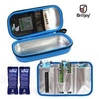 Brilljoy Przenośny Insulin Pen Torba Chłodnica Leków Diabetic Insulin Travel Case Case Cooler Pill Box Bolsa Termica Folia Aluminiowa Waga