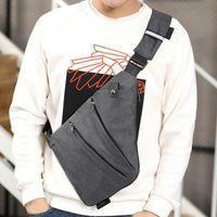 Backpack Male Canvas Messenger Bags Man Fashion Crossbody Bag Men Bolsa Shoulder Business Style Chest