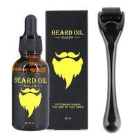 Men Beard Growth Kit for Facial Hair Growth Beard Nourishing Growth Essential Oil Beard Derma Roller to Help You Grow a BeardScouts