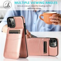 Phone Cases with buckle Flip Card Slot Wallet Stand PU Leather Case Cover for iPhone 12 11 pro max xs xr 5 6 7 8 Samsung S21 S20 S10 S8 NOTE 10 Plus Lite 20 Ultra huawei