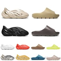 2021 tobogán hombres mujeres zapatillas desierto arena tierra marrón hueso resina espuma corredor blanco negro zapatillas