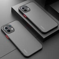Cell Phone Cases Capa de telefone fosco à prova choque para for xiaomi mi 11 10 9 9t cc9 poco x3 f3 redmi nota 10 9 8 7 k40 pro