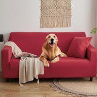 Chair Covers Anti-slip Pet Dog Cat Pad Waterproof Sofa Cushion Cover Diaper Four Seasons Towel Nordic Universal Solid Color