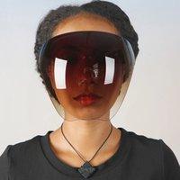 Güneş Kadın Erkek Koruyucu Yüz Bakımı Gözlük Goggles Tam Yüz Kaplı Küresel Lens Anti-Sprey Maske Güvenliği