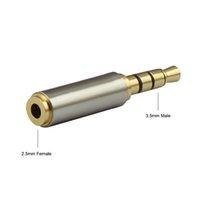 3,5 мм до 2,5 мм / 2,5 мм 3,5 мм адаптер преобразователь стерео аудио наушники разъем высокое качество оптом