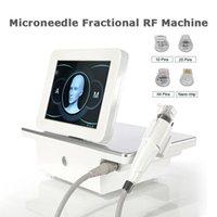 2 IN1 portatile frazionario RF Microneedle radiofrequenza a radiofregazione viso respirazione rughe rimozione pelle rimovente