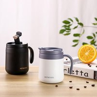Water Bottles 350 500ml Insulation Cup Portable Home Vacuum Flask Stainless Steel Bottle Travel Drink With Handle Lid