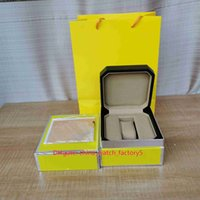 Vendita calda di alta qualità classica 1884 orologi scatole box box originali borsetti in pelle di legno per Bentley Supervenger Superocean Watch wristwatch