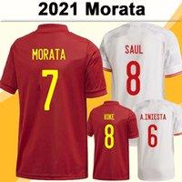 2021 KOKE PEDRI MENS SOCCER JERSEYS MORATA F. TORRES ALBA A. INIESTA SERGIO RAMOS SARABIA ADAMA ADAMA Accueil Version Version Football Chemises Uniformes