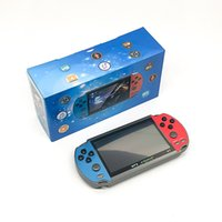 X7 Handheld Game Player 4.3 inch LCD Display 8GB Portable Pocket Video Games Console 3000 Classic Gaming AV TV Out Surround Sound MP3 MP4