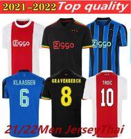 Haller 21/22 Amsterdam Fussball Jerseys 2021 Tadic Klaassen TRAORE PROMES NERES CRUYFF Männer Kit Fußball Hemd Uniformen
