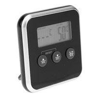 الإلكترونية الرقمية LCD الغذاء أدوات درجة الحرارة الأدوات ترمومتر مسبار لحوم المياه استشعار زيت المياه شواء الملحقات المطبخ الطبخ إنذار الموقت TP11