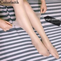 Women's Leggings Colorfaith 2021 Spring Woman Elasticity Fashionable Push Up Casual Thrilling Sexy Fitness Lady Jeggings Le803