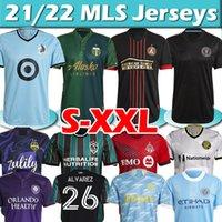 MLS 21/22 Soccer Jerseys Inter Miami Atlanta DC United Seattle Sounders La Galaxy Philadelphia Union بورتلاند - أورلاندو سيتي مونتريال جيرسي