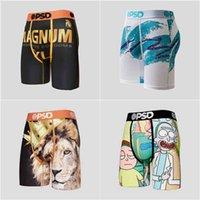 PSD Underwear Men Boxers Breif Sports Hip Hop Rock Excise Underwear Skateboard Street Fashion Streched Legging 4 Colors G41902