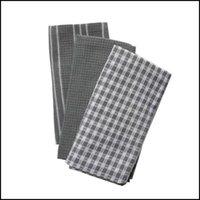 Napkin Textiles Home & Gardenkitchen 100% Natural Cotton, Tea Towels, Dish Cloth, Absorbent And Lint-, Hine Washable, Table Napkin3Pcs Set D