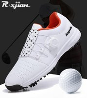 Zapatillas de golf R. Xjian Caballeros Zapatos Sneakers vacíos Marca 0908