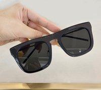 Dark 1104 Sunglasses Luxury Black Sun Lenses Glasses Box Grey Square Men With For Oupsw