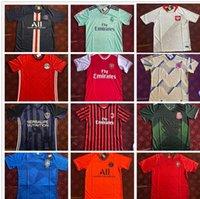 18 파리 망 축구 유니폼 레알 마드리드 이집트 홈 멀리 멕시코 3 그린 반팔 축구 셔츠 패션 성인 유니폼 저렴한 가격 판매