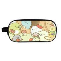 화장품 가방 케이스 아름다운 Sumikko 구라시 연필 케이스 어린이 만화 학생 귀여운 학교 상자 소녀 키즈 고정식