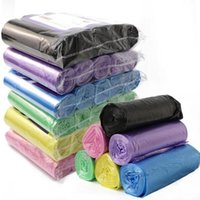 Hanging Baskets 5Rolls 100Pcs Disposable Garbage Bag Kitchen Rubbish Bags Plastic Waste Trash Tools