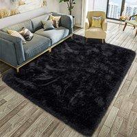 Fluffy Soft Kids Room Carpet Anti-Skid Large Fuzzy Shag Fur Area Rugs Modern Indoor Home Living Room Carpet Children Bedroom Rug