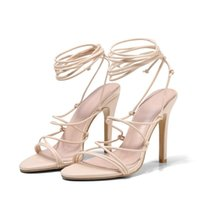 Dress Shoes Lady High Heels Gladiator Platform Sandals Strap Stripper Super Party Sandles