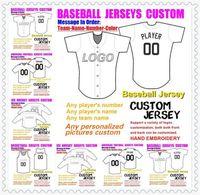 Maillots de football américains personnalisés pour l'homme Wamen jeunesse Kids Baseball Glace Hockey Hockey Basketball Couleur Baseball Soccer Jersey US Gear XXXL 4XL 5XL 6
