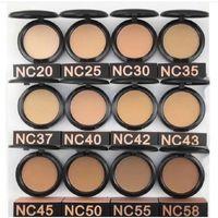Alta Qualidade Maquiagem Rosto Em Pó 12 Pós Pós Pós Powders Plus Foundation 15G DHL Navio Livre