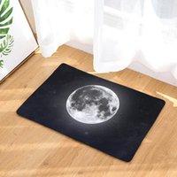 Tapis Cammitever Moon Planète Sacs antidérapant Tapis de cuisine Tapis de cuisine Tapis de salle de bain ponders Perfect pour cuisines et bureaux debout