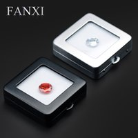 Fanxi Metal Loose Stone Box Square Diamond Box Gem Box Js007 Jewelry Packaging Display