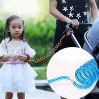 Niño bebé niños arnés de seguridad y correas cortadas continuamente artículos para el hogar infantil correa anti perdida enlace de muñeca tracción cuerda