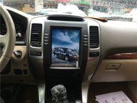 2002-2009 Toyota Prado 120 Lexus GX470 tesla style screen Car PC Radio Multimedia Video Player Navigation GPS Android bluetooth dvd Hotspot WIFI carplay