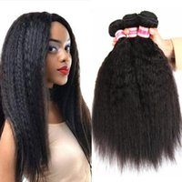 Human Hair Bulks Curly Extensions Kinky Straight Weaves Bundles Yaki Brazilian Natural Remy 3 4 Deal