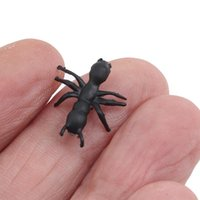 파티 마스크 100 / 150pcs 참신 시뮬레이션 개미 고품질 솔리드 컬러 개미 장난감 농담 장난감 할로윈 플라스틱 현실적인 자극