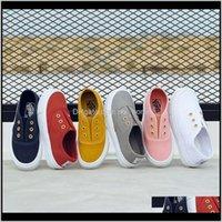 Autumn Children Canvas Sport transpirable Boys Brand Kids Zapatos para niños Sneakers de Niñas Cansual 112 años 201202 AZ4SQ PI1A7
