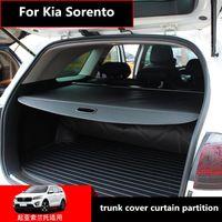 Car Organizer For Kia Sorento 2021-2021 Trunk Cover Curtain Partition Rear Storage Consolidation