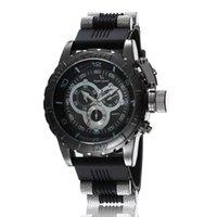 Relógios de pulso V6 Tiras de hora Marcas Redonda Big Dial Quartz Watch Homens Moda Horas Silicone Esporte Pulso Relogio Masculino