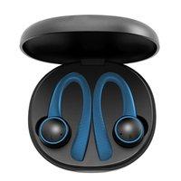 Auricolare Bluetooth TWS 5 .0 Wireless Blue Dente Earhook T7 Pro Earbuds Cuffie sportive per tutti gli smartphone