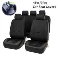 Coberturas de assento de carro Chunmu 4 pcs / 9 pcs conjunto de couro PU Auto Universal Waterproof Isolamento Interiores Acessórios