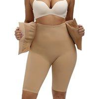 Трусики Tummy Control Женщины Формирователь для тела Высокая талия Формированные брюки Бесшовные Peoplewear Post Разделить талии Train