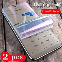 phone screen protectors Soft full cover for iphone 7 8 plus 6 6s hydrogel film protective film 11 12 13 pro x xs max xr Not Glass