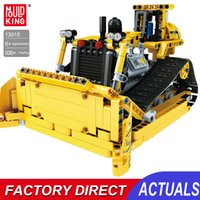 Building Blocks Bulldozer Rc Kit Bricks Remote Control Truck Mini Construction Vehicle City Car Engineering Toys Birthday Gifts