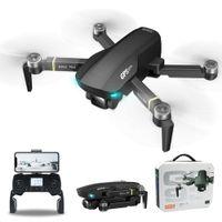 مصغرة بدون طيار 6 كيلو المزدوج hd كاميرا wifi fpv gps طائرة بدون طيار زاوية واسعة طوي quadcopter rc طيار كيد لعبة هدية